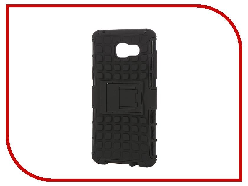 Аксессуар Чехол-накладка Samsung Galaxy A5 2016 SkinBox Defender Case Black T-S-SGA52016-06<br>