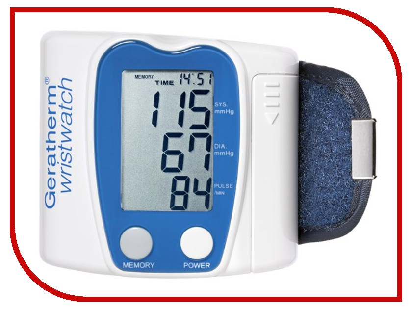 Тонометр Geratherm Wristwatch KP 6130 Blue