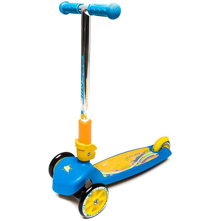 Самокат Tech Team TT Cosmic Blue-Yellow<br>