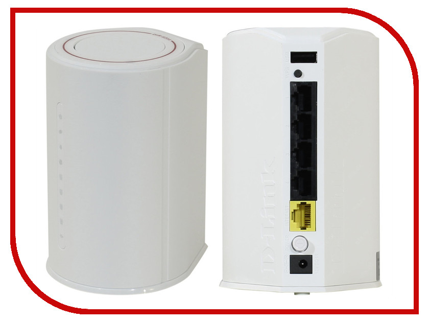 Wi-Fi роутер D-Link DIR-620A