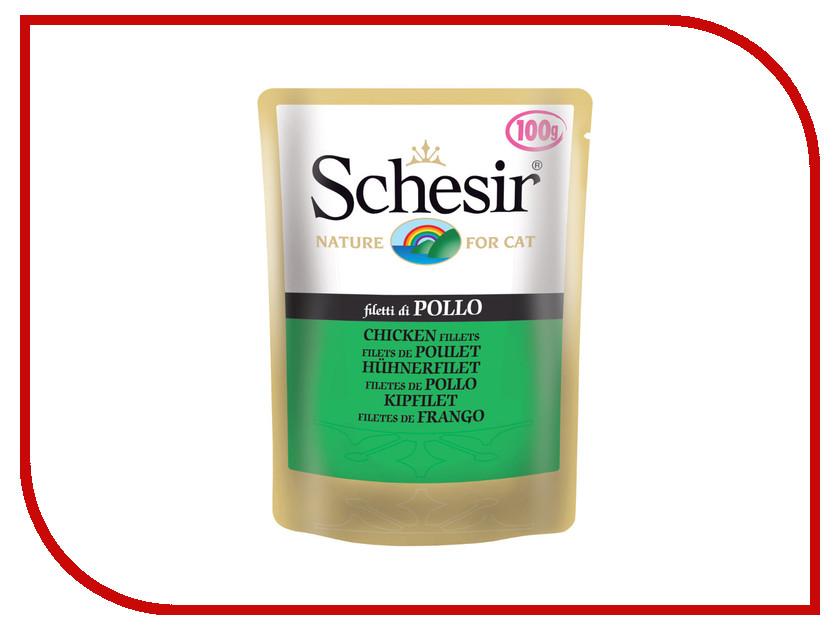 Корм Schesir С576 Филе цыпленка 100g для котят 10457<br>