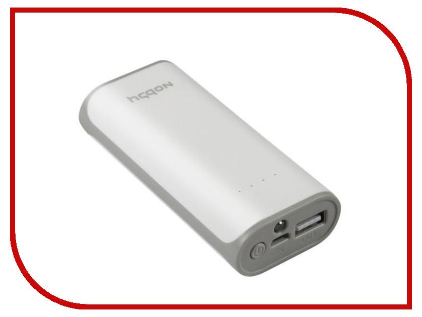 Аккумулятор Nobby Practic 011-001 4000 mAh USB 1.2А White 09275