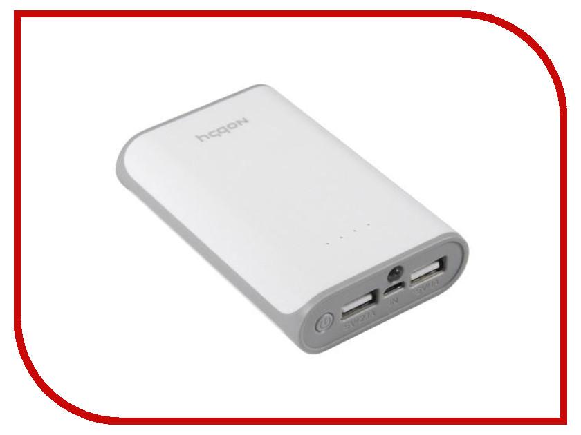 Аккумулятор Nobby Practic 012-001 6000 mAh 2xUSB 2.1А White 09276<br>