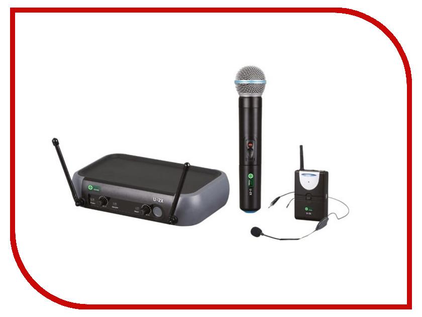 Радиомикрофон Eco by Volta U-2X (614.15/520.10)<br>
