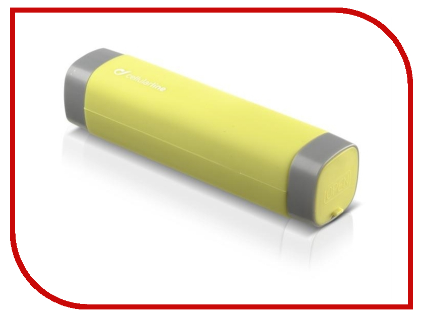 Аккумулятор Cellular Line 2200 mAh Yellow FREEP2200ACTIVEL