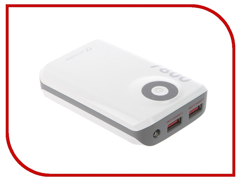 Аккумулятор Cellular Line 7800 mAh White FREEPOWER7800W<br>