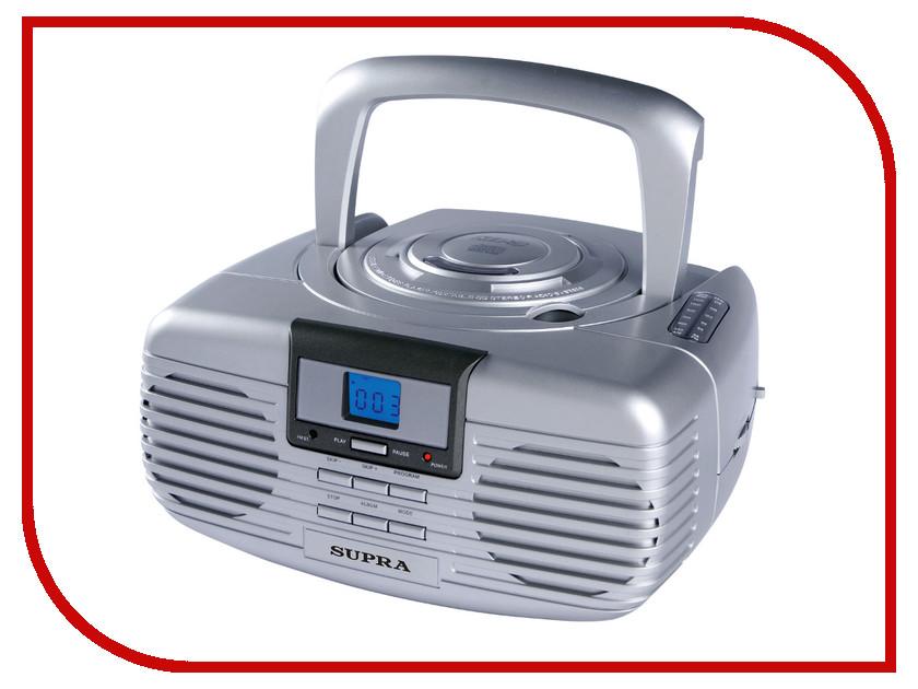 CD-проигрыватель SUPRA BB-CD101 Silver