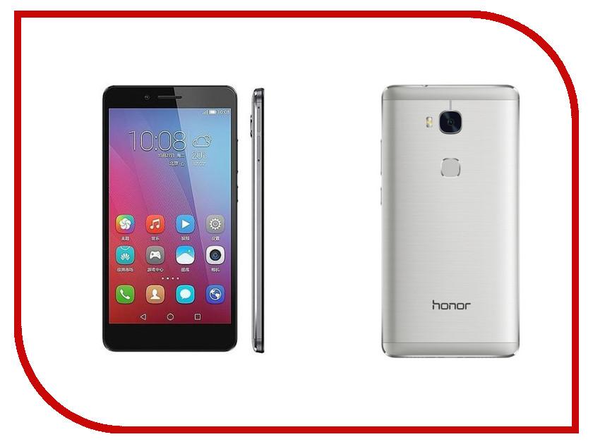 Сотовый телефон Huawei Honor 5X Silver<br>