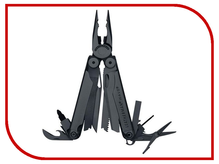 Мультитул Leatherman Wave Black 831331 цена