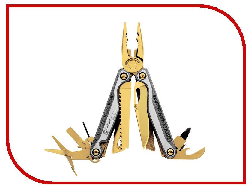Мультитул Leatherman Charge TTi 831822 С золотым покрытием