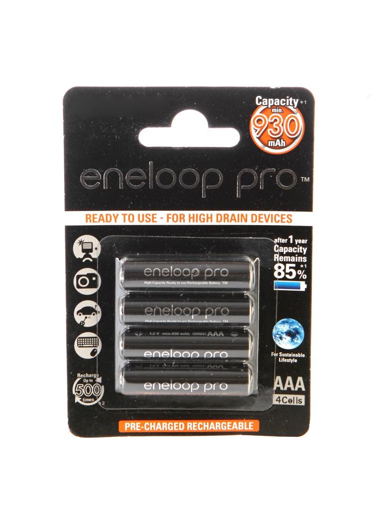 Аккумулятор AAA - Panasonic Eneloop 930 mAh (4 штуки) BK-4HCDE/4BE 83525