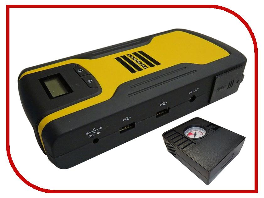 Зарядное устройство для автомобильных аккумуляторов TrendVision Start 18000 mAh Compressor