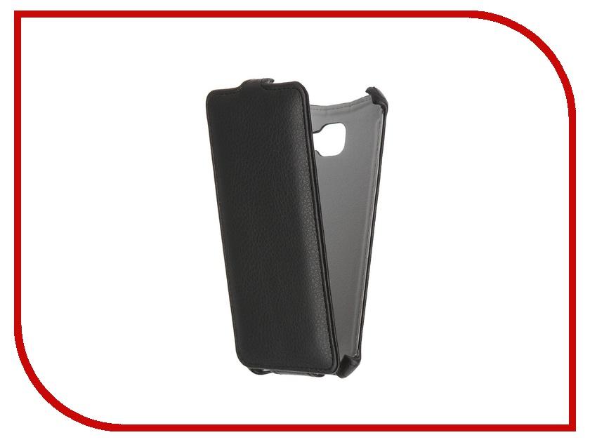 Аксессуар Чехол Samsung Galaxy A5 2016 Gecko Black GG-F-SGA5-2016-BL аксессуар чехол meizu m3s mini gecko black gg f meim3smini bl