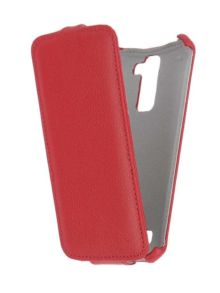 Аксессуар Чехол LG K10 Gecko Red GG-F-LGK10-RED<br>