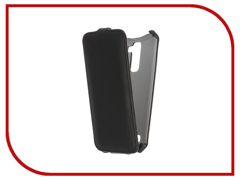 Аксессуар Чехол LG K10 Gecko Black GG-F-LGK10-BL<br>