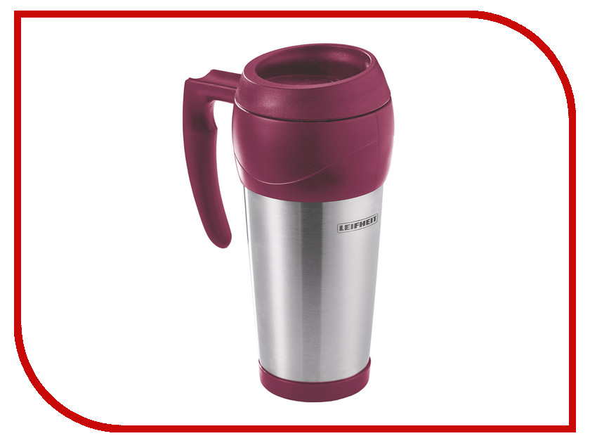 Термокружка Leifheit Lim.Edition 500ml Steel-Bordo 25785