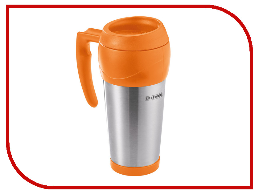 Термокружка Leifheit Lim.Edition 500ml Steel-Orange 25784