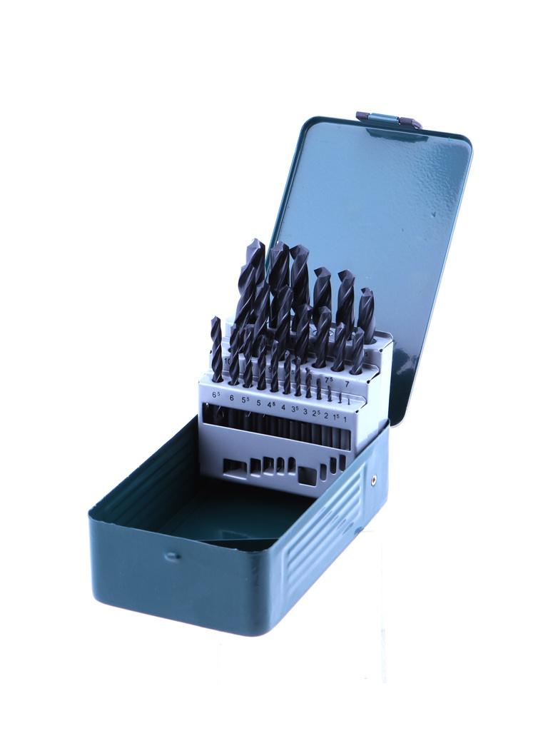 Фото - Набор сверл Bosch HSS-R Promoline 1-13mm по металлу 25шт 2607019446 набор сверл bosch по металлу hss r promoline 1 10mm 10шт 2607019442