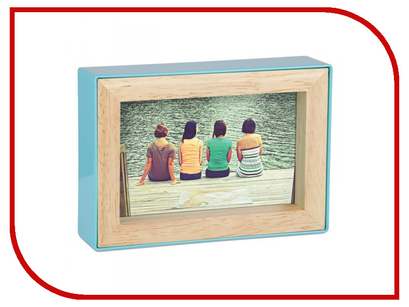 Рамка для фото Umbra Fotoblock 10х15 Blue 313264-522<br>
