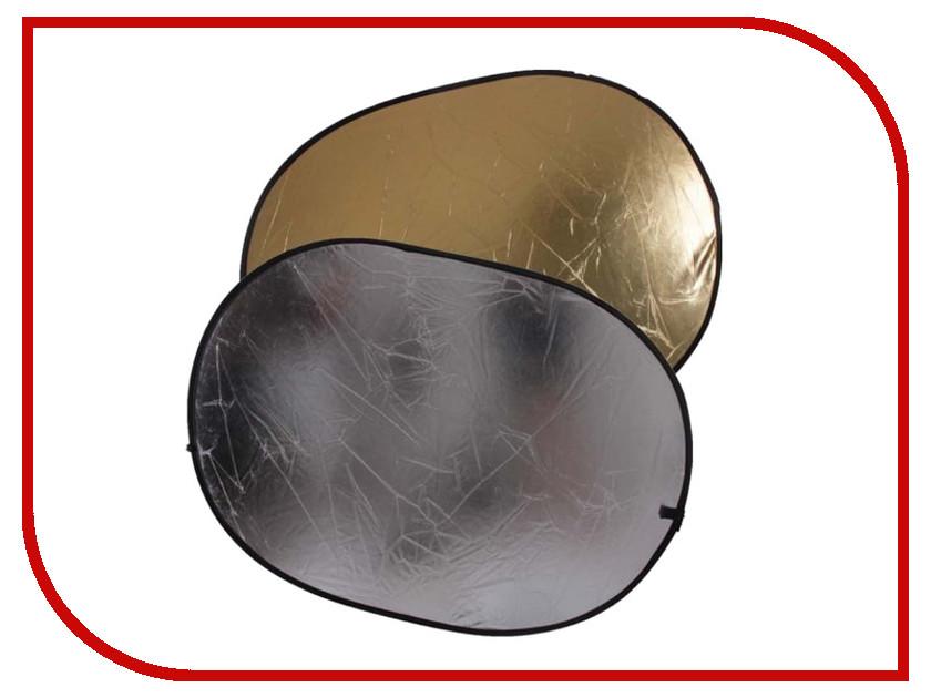 Светоотражатель FST RD-021GS 60x90cm Gold-Silver<br>