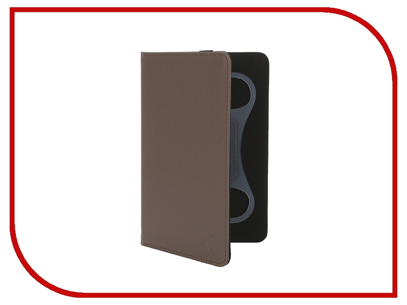Аксессуар Чехол 7-inch Vivacase Mini Brown VUC-CMN07-br<br>
