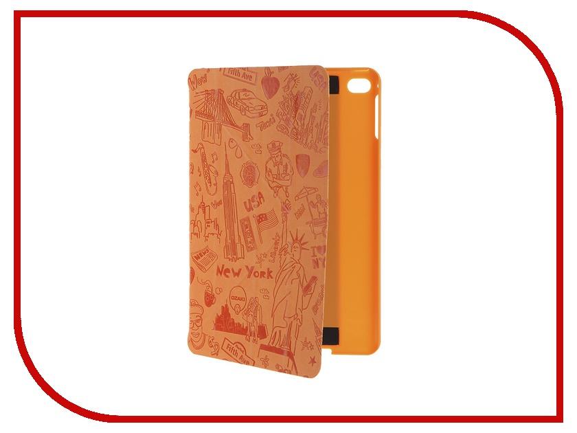 Аксессуар Чехол APPLE iPad mini 4 Ozaki O!coat Travel New York OC112NY<br>