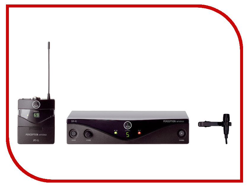 Радиомикрофон AKG Perception Wireless 45 Pres Set BD A