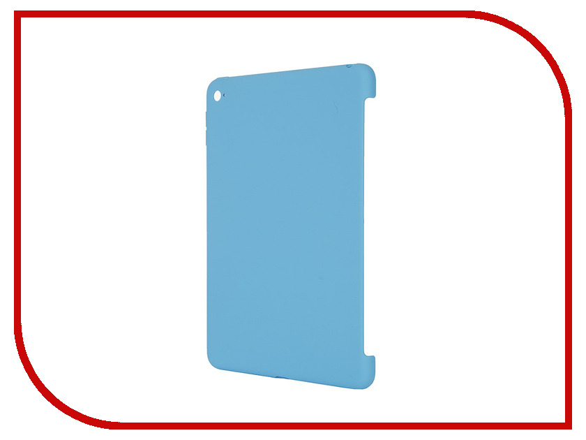 Аксессуар Чехол APPLE iPad mini 4 Silicone Case Blue MLD32ZM/A<br>