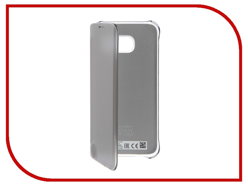 Аксессуар Чехол Samsung Galaxy S7 Edge Clear View Cover Silver EF-ZG935CSEGRU<br>