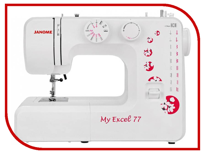 Швейная машинка Janome My Excel 77/MX 77 next move 3 students book access code