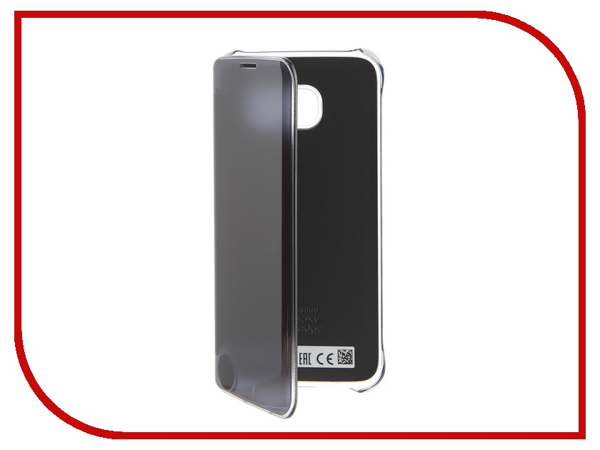 Аксессуар Чехол Samsung Galaxy S7 Edge Clear View Cover Black EF-ZG935CBEGRU samsung clear cover для galaxy s7 edge black ef qg935c