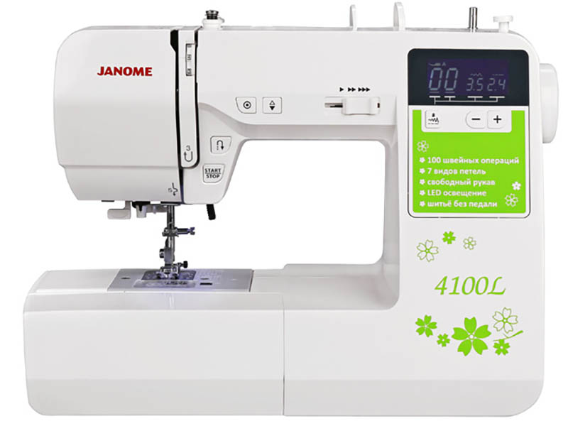 Швейная машинка Janome 4100L машинка швейная janome 2141