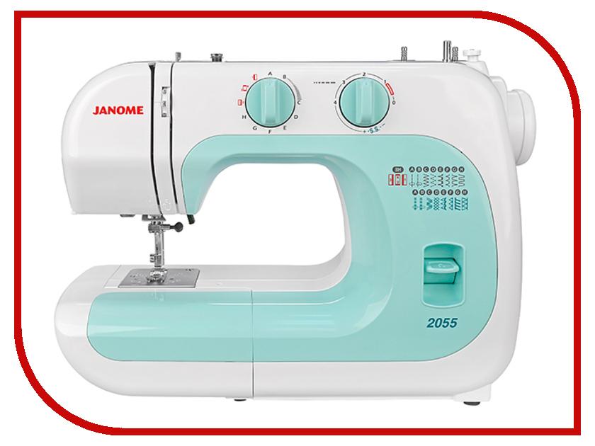 Швейная машинка Janome 2055 микро швейная машинка