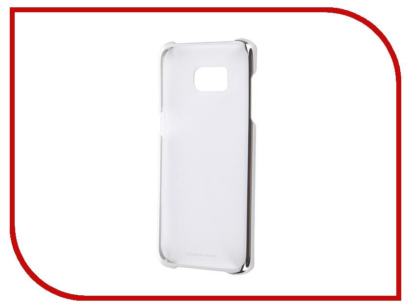 Аксессуар Чехол-накладка Samsung Galaxy S7 Edge Clear Cover Silver EF-QG935CSEGRU<br>