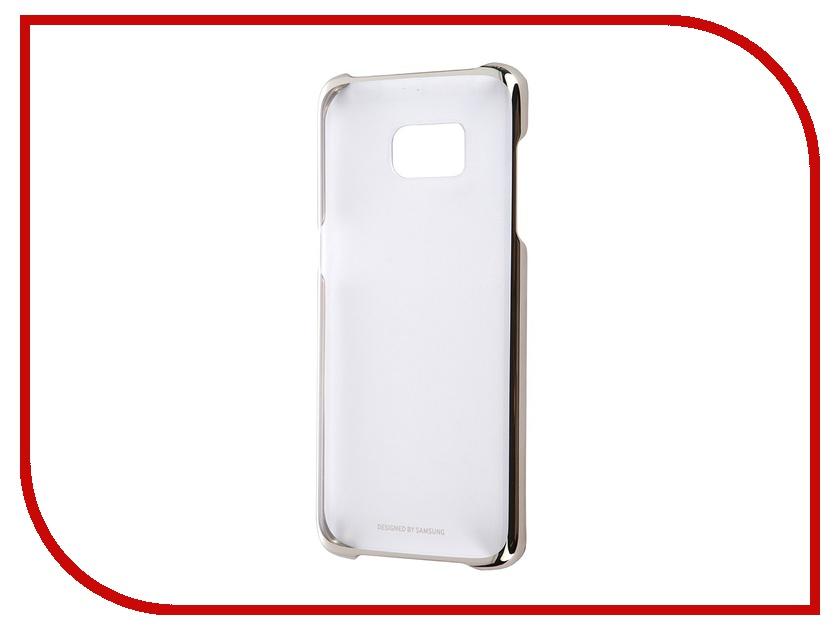 Аксессуар Чехол-накладка Samsung Galaxy S7 Edge Clear Cover Gold EF-QG935CFEGRU<br>