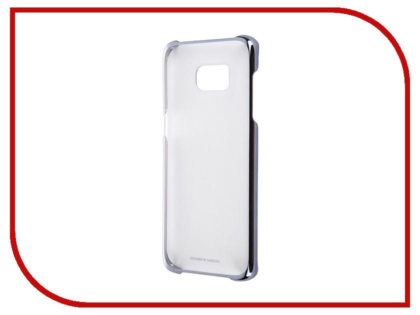Аксессуар Чехол-накладка Samsung Galaxy S7 Edge Clear Cover Black EF-QG935CBEGRU<br>