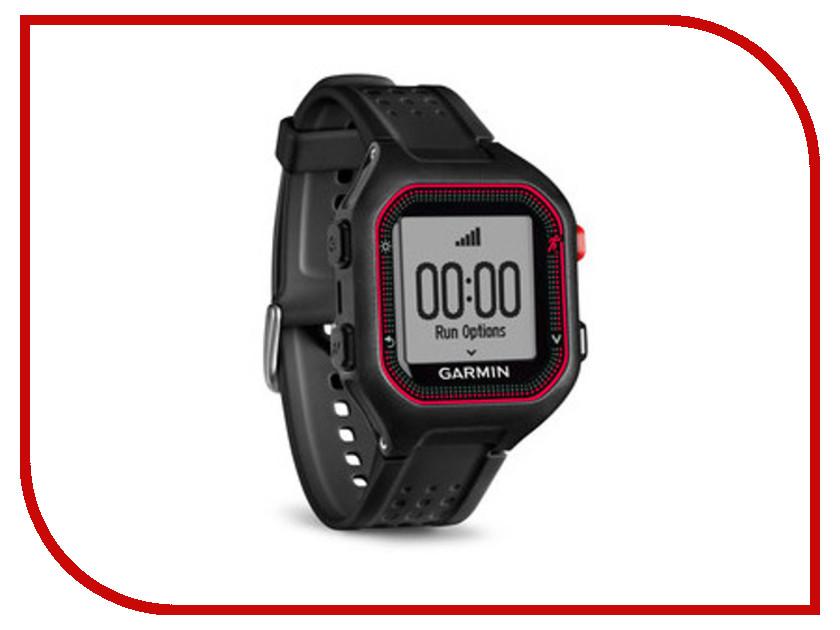 GPS-туристический Garmin Forerunner 25 Large HRM1 Black-Red 010-01353-50<br>