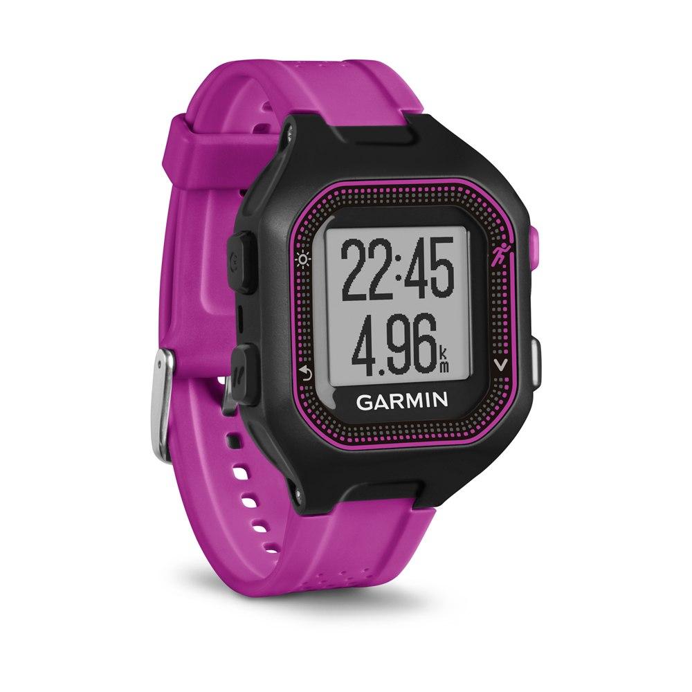 GPS-туристический Garmin Forerunner 25 Small HRM1 Black-Purple 010-01353-70<br>