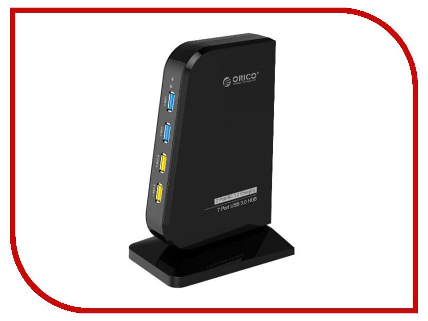 Хаб USB Orico DH7C2 Black