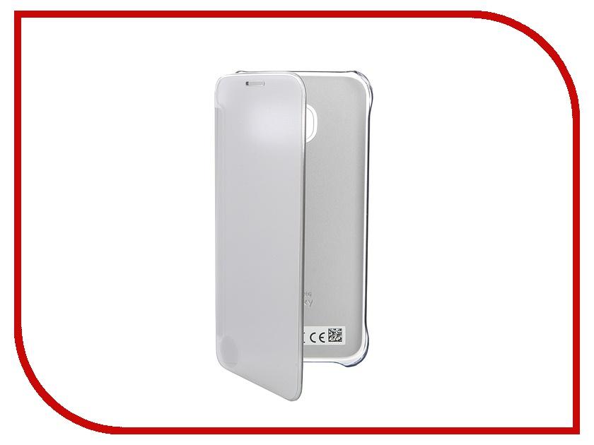 Аксессуар Чехол Samsung Galaxy S7 Clear View Cover Silver EF-ZG930CSEGRU<br>