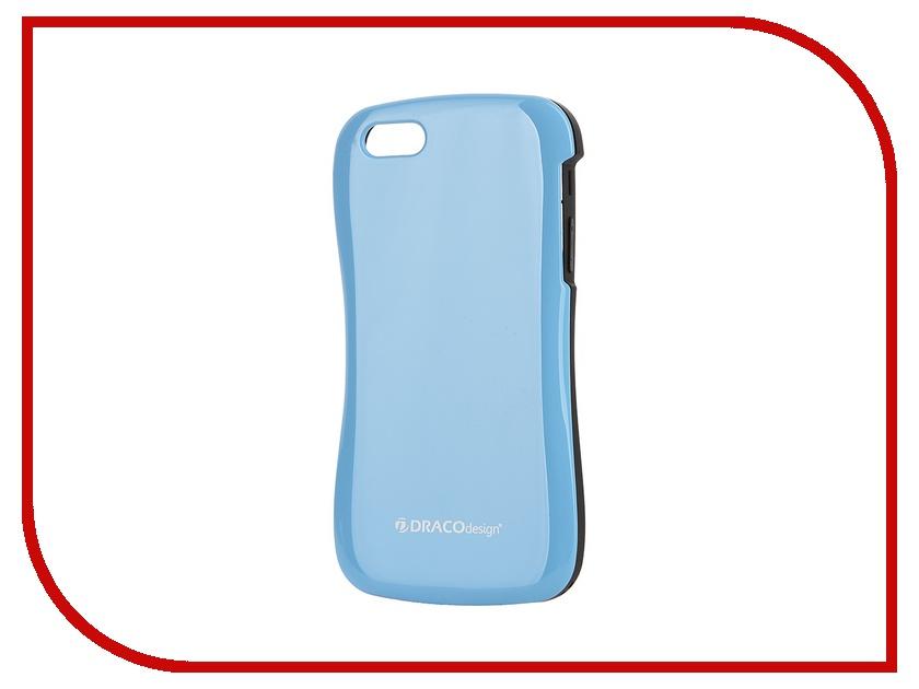 Аксессуар Чехол DRACO Allure CP для iPhone 5C Black-Blue DR50ACPO-BBU