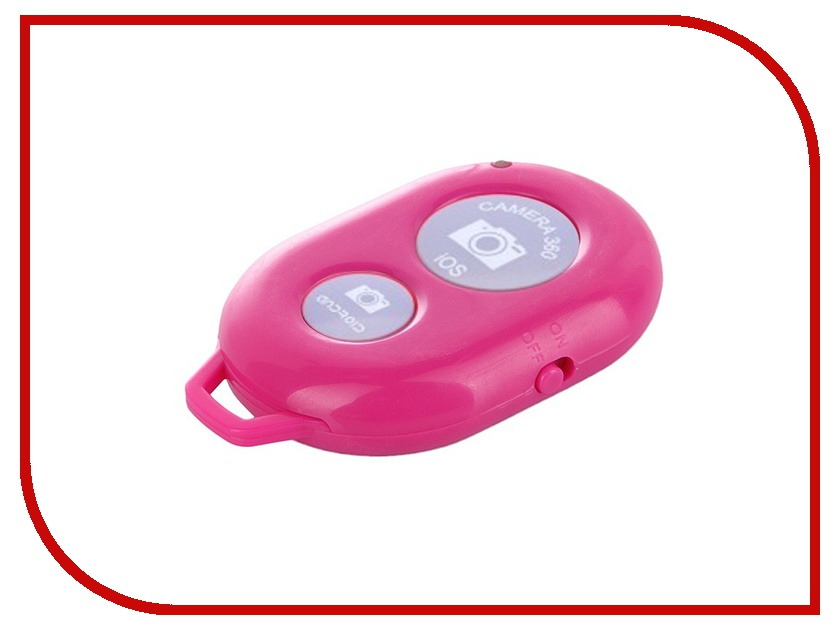 Гаджет Cheeese! Mozza-1 Dark-Pink - брелок-кнопка для селфи