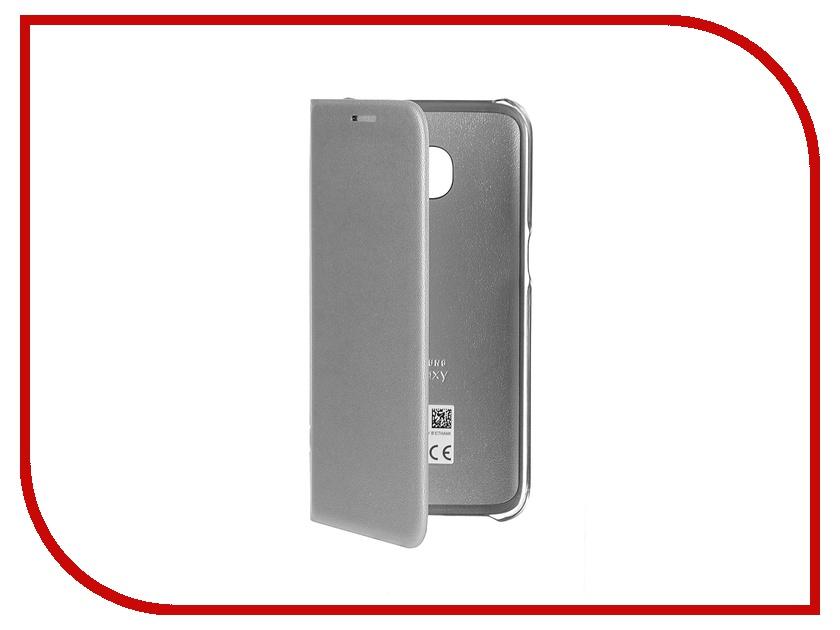 Аксессуар Чехол Samsung Galaxy S7 LED View Cover Silver EF-NG930PSEGRU<br>