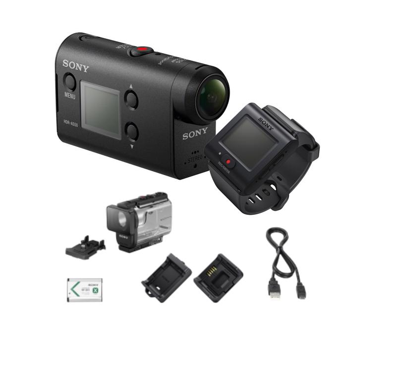 Экшн-камера Sony HDR-AS50R action камера sony hdr as50r с пультом ду rm lvr3