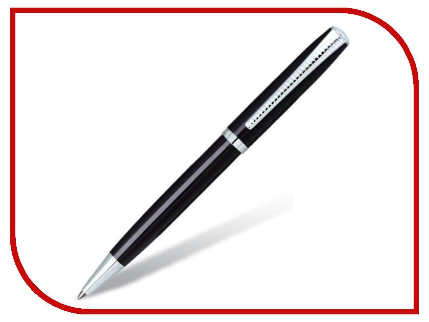 Ручка BRAUBERG Cayman Black-Silver 141410