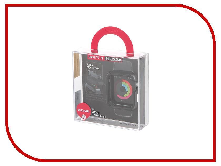 Аксессуар Чехол APPLE Watch Sport Edition 38mm Ozaki Black OC620BK<br>
