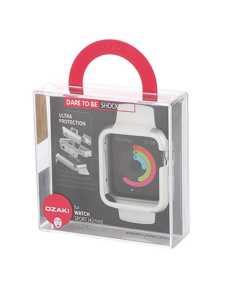 Аксессуар Чехол APPLE Watch Sport 42mm Ozaki White OC660WH<br>
