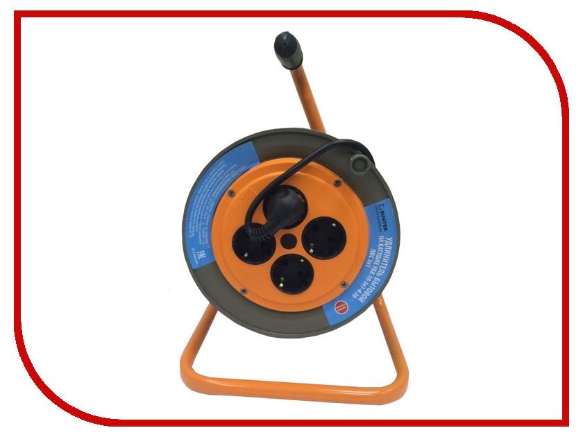 Удлинитель Suntek 2000Вт ПВС-ВП 3х1,0 на катушке Black 50м