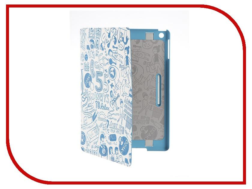 Аксессуар Чехол APPLE iPad Air Ozaki O!coat Relax Blue OC113BU<br>