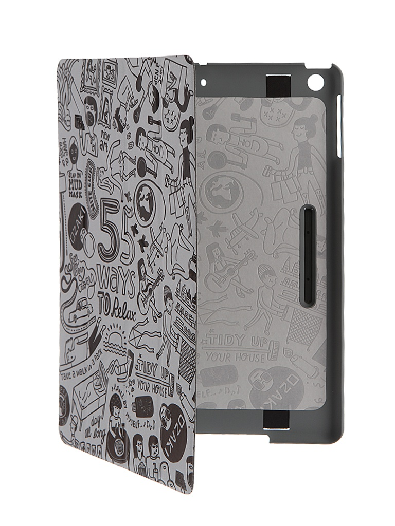 Аксессуар Чехол APPLE iPad Air Ozaki O!coat Relax Light Grey OC113GR<br>